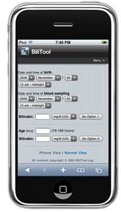 BiliTool for the iPhone - Front Screen